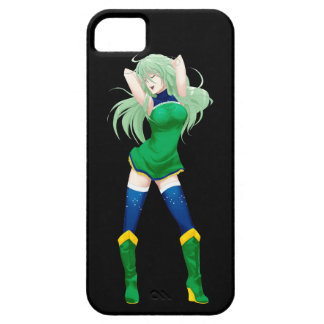 Brazil Brazilian Manga Flag girl iPhone SE/5/5s Case