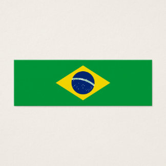 Brazil – Brazilian National Flag Mini Business Card