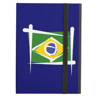 Brazil Brush Flag Cover For iPad Air