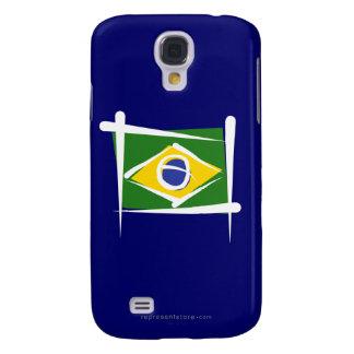 Brazil Brush Flag Samsung Galaxy S4 Case