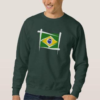 Brazil Brush Flag Sweatshirt