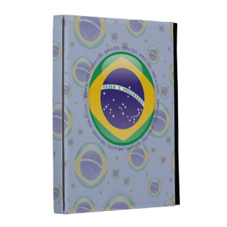 Brazil Bubble Flag iPad Case