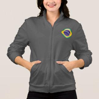 Brazil Bubble Flag Jacket