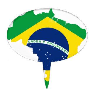 Brazil Cake Topper