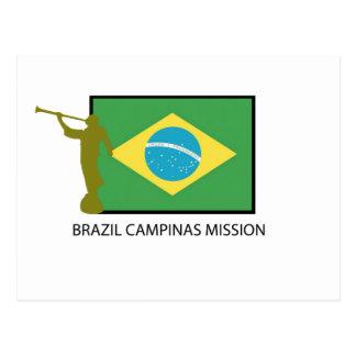 BRAZIL CAMPINAS MISSION LDS POSTCARD