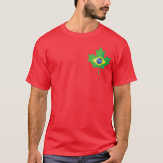 Brazil Canada small logo T-Shirt
