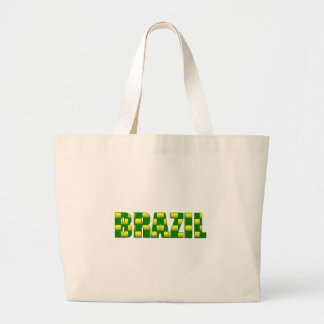 Brazil Carbon logo - 2010 soccer gifts Tote Bags