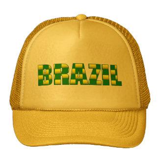 Brazil Carbon logo - 2010 soccer gifts Trucker Hat