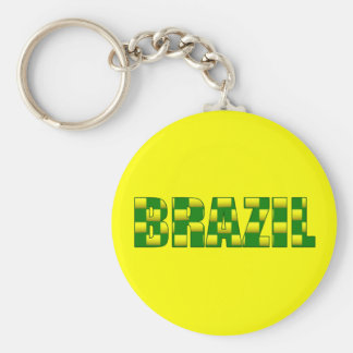 Brazil Carbon logo - 2010 soccer gifts Keychain