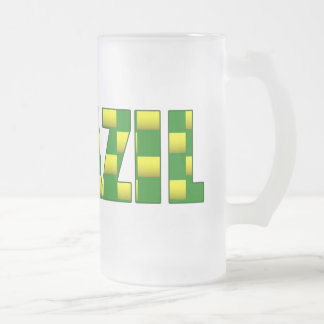 Brazil Carbon logo - 2010 soccer gifts Coffee Mugs