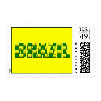 Brazil Carbon logo - 2010 soccer gifts Postage