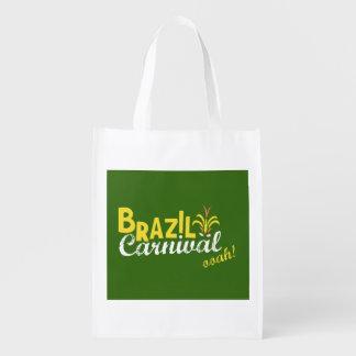 Brazil Carnival ooah! bag Grocery Bags