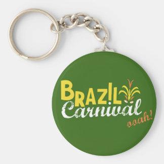 Brazil Carnival ooah! Basic Keychain