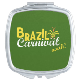 Brazil Carnival ooah! Compact Mirror Travel Mirror
