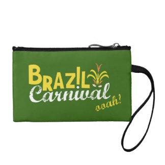 Brazil Carnival ooah! Key Coin Clutch Change Purses