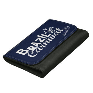 Brazil Carnival ooah! Leather Wallet Wallet