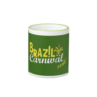 Brazil Carnival ooah! Mug Traditional