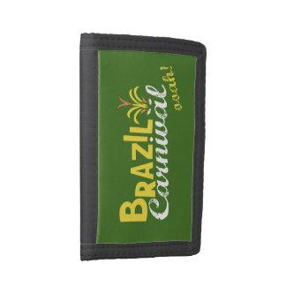 Brazil Carnival ooah! nylon Wallet Small Tri-fold Wallet