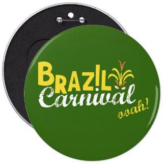 Brazil Carnival ooah! Pinback Button