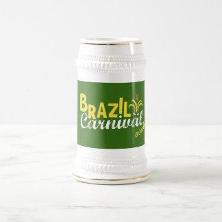Brazil Carnival ooah! Stein Mug Extended
