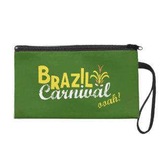 Brazil Carnival ooah! Wristlet Clutch