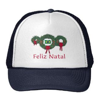 Brazil Christmas 2 Mesh Hats