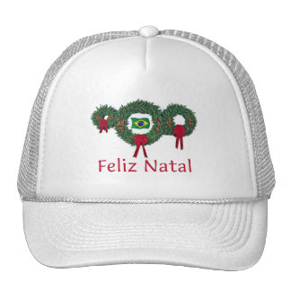 Brazil Christmas 2 Hat