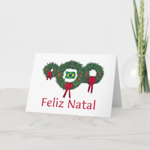 Brazil christmas cards zazzle brazil christmas 2 holiday card m4hsunfo