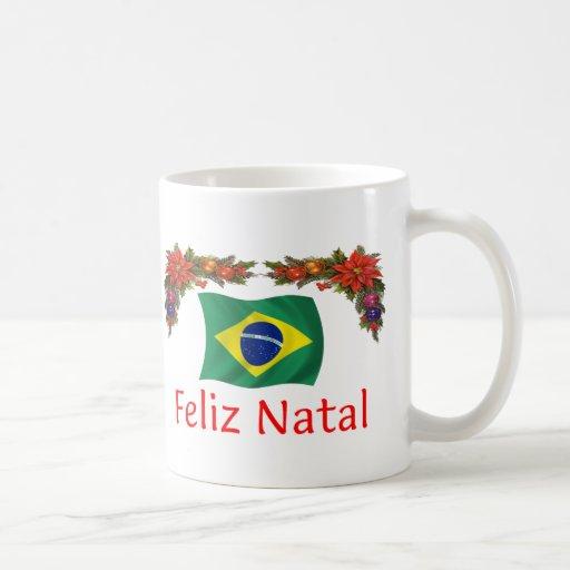 Brazil Christmas Coffee Mugs