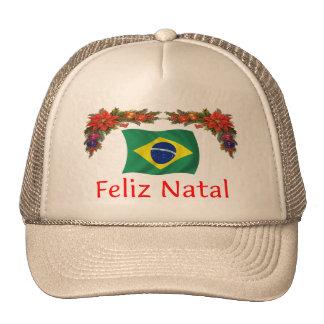 Brazil Christmas Trucker Hat