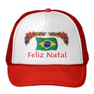 Brazil Christmas Trucker Hats
