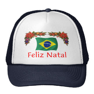 Brazil Christmas Hat