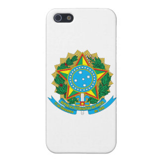 Brazil Coat of Arms iPhone SE/5/5s Cover