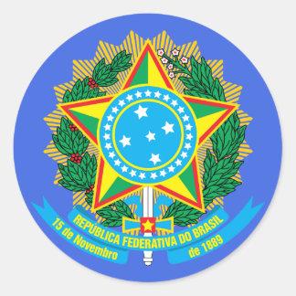 Brazil* Coat of Arms Sticker