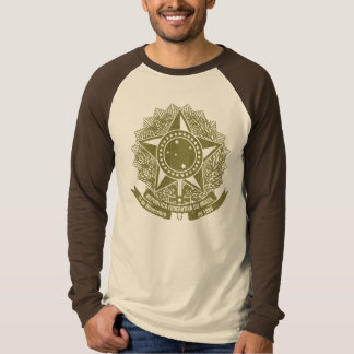 Brazil Coat of Arms Vintage T-shirts