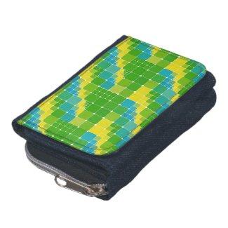 Brazil color square ブラジルカラー タイル模様 wallets