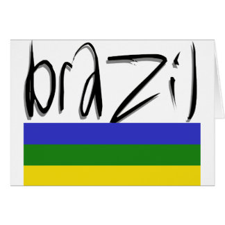Brazil Colors! Card