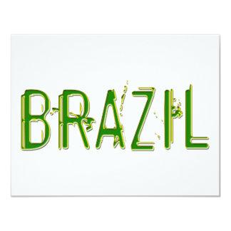 Brazil cool design! card