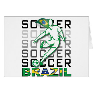 Brazil Copa America 2011 Greeting Card