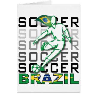 Brazil Copa America 2011 Greeting Cards