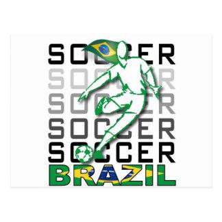 Brazil Copa America 2011 Postcard