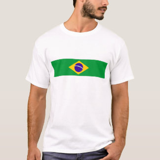 brazil country flag brazilian nation symbol T-Shirt