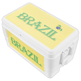 Brazil Country flag Chest Cooler