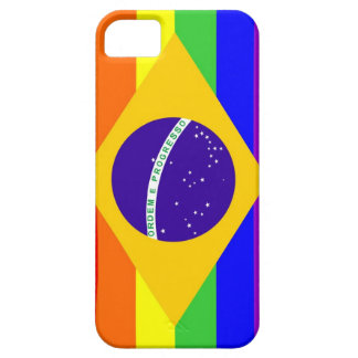 brazil country gay proud rainbow flag homosexual iPhone SE/5/5s case