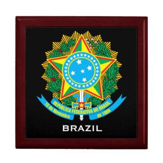 BRAZIL Crest Jewelry Box