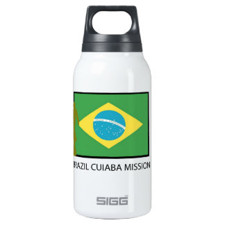 BRAZIL CUIABA MISSION LDS INSULATED WATER BOTTLE