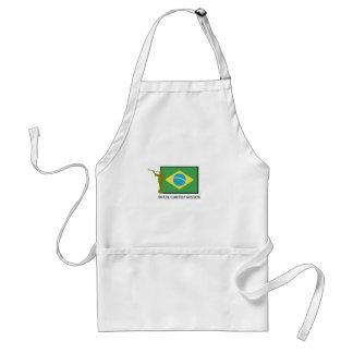 BRAZIL CURITIBA MISSION LDS ADULT APRON