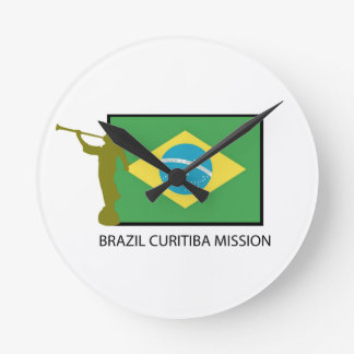 BRAZIL CURITIBA MISSION LDS CLOCK