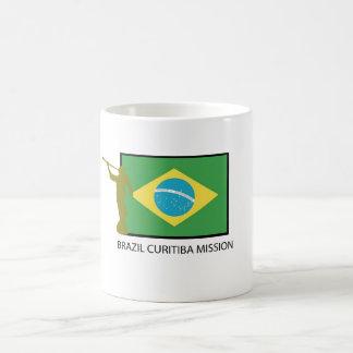 BRAZIL CURITIBA MISSION LDS COFFEE MUG