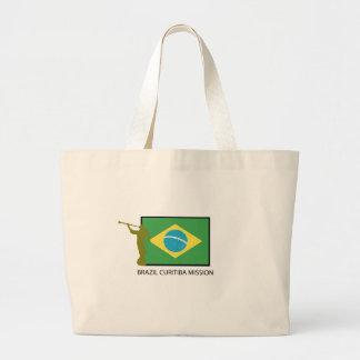 BRAZIL CURITIBA MISSION LDS LARGE TOTE BAG